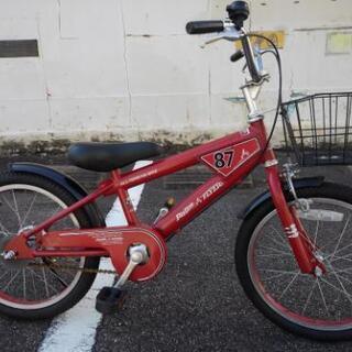 中古子供自転車674  子供自転車 18インチ ギヤなし ダイナ...