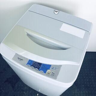 中古 洗濯機 シャープ SHARP 全自動洗濯機 2001年製 ...