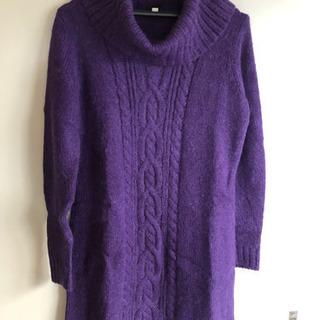 UNIQLO ロングセーター  Lサイズ