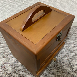 木製コスメボックス