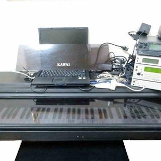 無料♫木製鍵盤 Kawai カワイ 電子ピアノ PW360MRを...