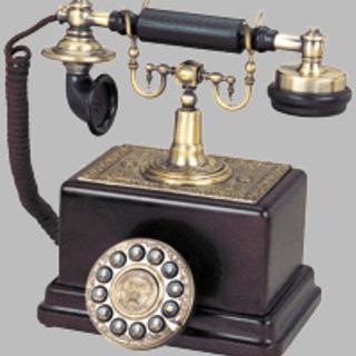 在庫放出品★インテリアにクラシック電話機1908
