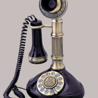 在庫放出品★インテリアにクラシック電話機1897