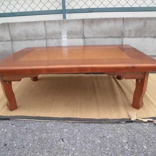 ★お値下げ★折りたたみ式テーブル JM4111)【取りに来られる...