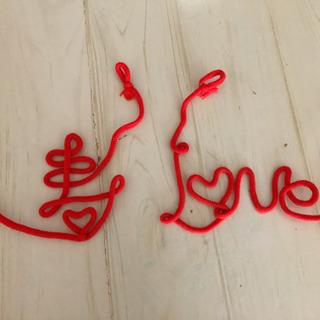 結婚式 赤い糸 前撮り用品