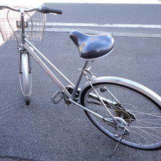 DUNLOP/ダンロップ 自転車 27インチ シルバー シティサ...