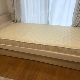 ニトリ シングルベッド マットレス 収納ボックス付き