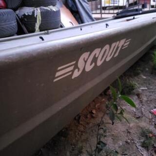 SCOUT12フィートアルミジョンボート&ヤマハ船外機セット