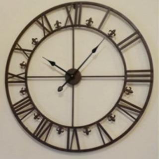 アイアンダイヤル・ラージクロック(壁掛け時計)