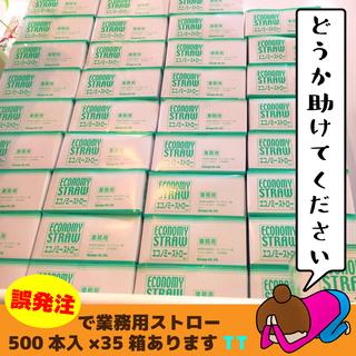【業務用エコノミーストロー500本入】