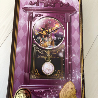 ラプンツェル 振り子時計 未使用品
