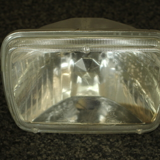 角型ヘッドライト マルチリフレクタータイプ