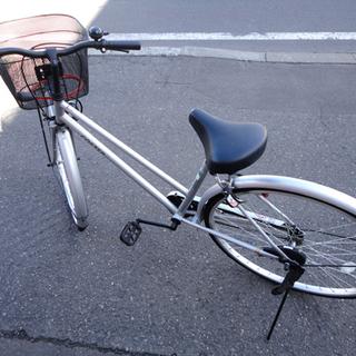 COSTER city 自転車 27インチ シルバー シティサイ...
