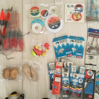 【値下】リール4個と釣り道具,全てまとめて