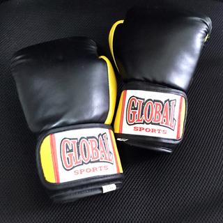 ☆中古☆ GLOBAL SPORTS ボクシンググローブ 8オンス