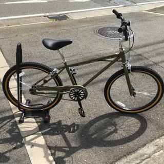【新車】 BMX backpacker. 609 マットオリーブ