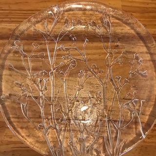 ボタニカルガラスプレート