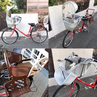 maruishi flackers安心ブランドの子供3人乗り自転...