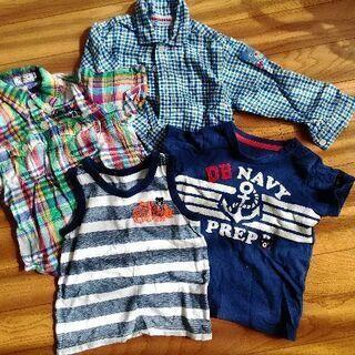 ミキハウス 男の子 服 4種
