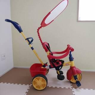 【非常に美品】三輪車  リトルタイクス  4in1