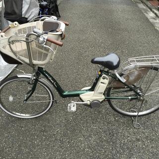 YAMAHA PASリトルモア 電動3人乗り自転車 差し上げます。