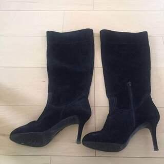 本革ブーツ 23.5cm
