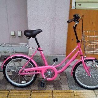 CREEK 20吋ファッションミニサイクル シングル/ピンク