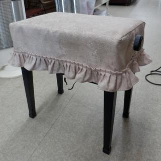 PayPay対応 ピアノ椅子 昇降 高さ45~50cm 黒 合皮...