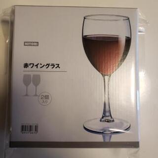新品未使用🌻赤ワイングラス