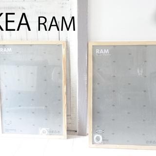 500円 新品【IKEA】RAM ピクチャー フレーム(2枚se...