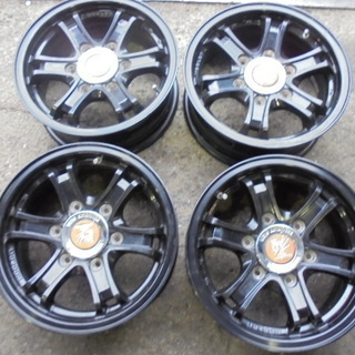 4本set WEDS ADVENRURE 15×6J 139.7...