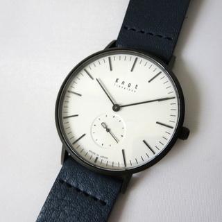 ~ 美品 Knot ノット クラシック スモールセコンド 腕時計...