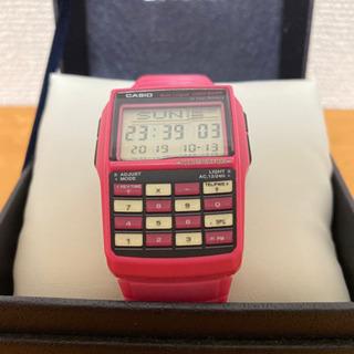 希少 CASIO カシオ データバンク ピンク