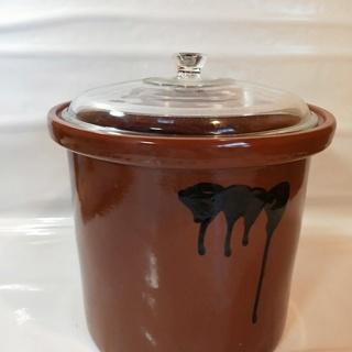 未使用の本格鉢 漬物 仕立てかめ ぬか漬け 容器 入れ物 陶器 ...