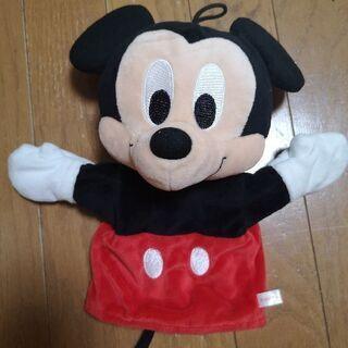 ★美品★ミッキーマウスのパペット