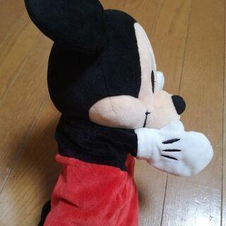 ★美品★ミッキーマウスのパペット - 八王子市