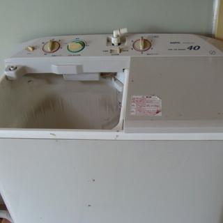 ☆★サンヨー★2槽式洗濯機 4.0Kg★SW-400F2★動作品...