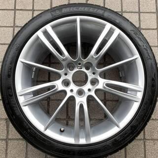 BMW3シリーズMスポーツ純正 18インチ 1本 ランフラットタ...