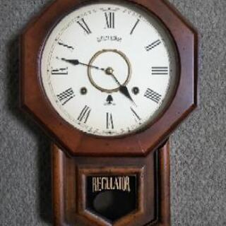 掛け時計「未使用」更新します。(アンティーク仕様)