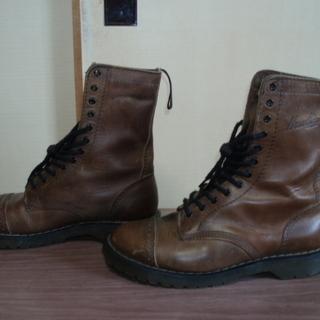 ホーキンスブーツ(26~26.5cm) 生ゴム靴底 アフターにも