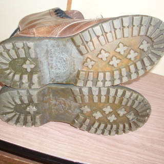 ホーキンスブーツ(26~26.5cm) 生ゴム靴底