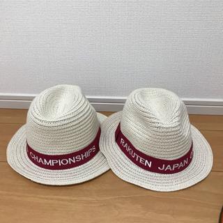 楽天オープン2019年 麦わら帽子