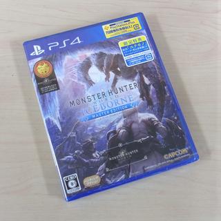 南12条店 新品 PS4ソフト  モンスターハンターワールド:ア...