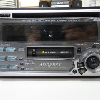 旧車向け アゼスト ADX5455 CDカセットデッキ 2DIN