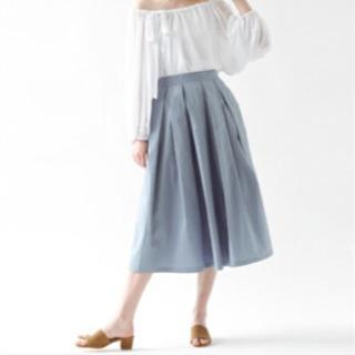 ブルー スカート