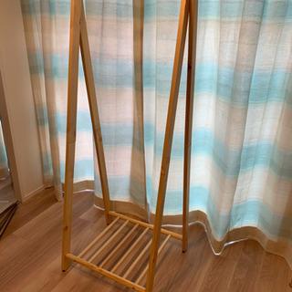 木製 ハンガーラック