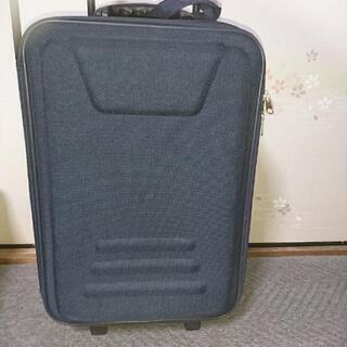 布製 スーツケース 【紺】ユーズド