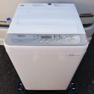 ■2017年製■パナソニック 全自動洗濯機 6kg NA-F60...