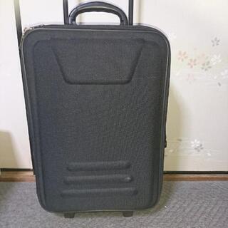 布製スーツケース【黒】ユーズド