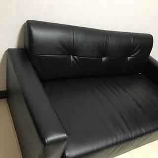 ソファ(黒)
